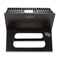 Picnic Time Wake Forest Demon Deacons Portable X-Grill
