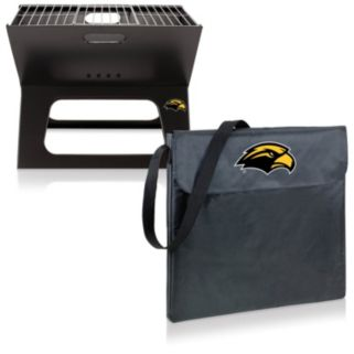 Picnic Time Southern Miss Golden Eagles Portable X-Grill