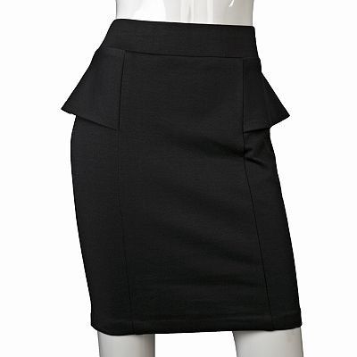 IZ Byer California Peplum Skirt - Juniors
