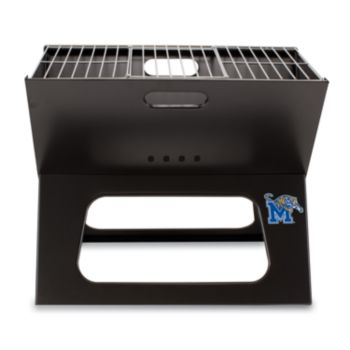 Picnic Time Memphis Tigers Portable X-Grill