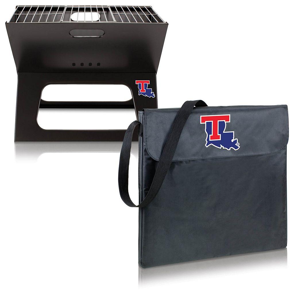 Picnic Time Louisiana Tech Bulldogs Portable X-Grill