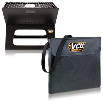 Picnic Time Virginia Commonwealth Rams Portable X-Grill