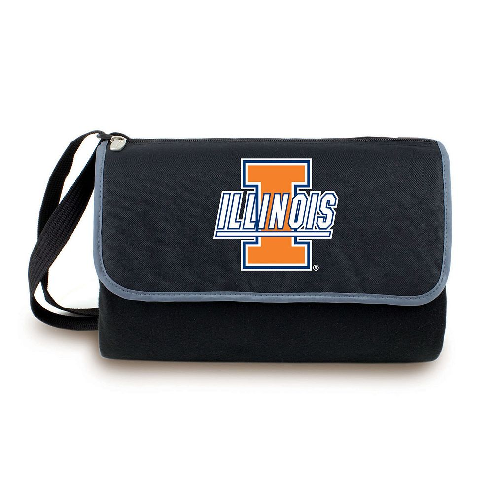 Picnic Time Illinois Fighting Illini Blanket Tote