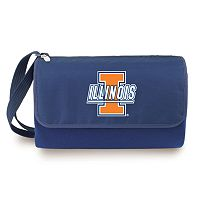 Picnic Time Illinois Fighting Illini Blanket Tote