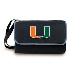 Picnic Time Miami Hurricanes Blanket Tote