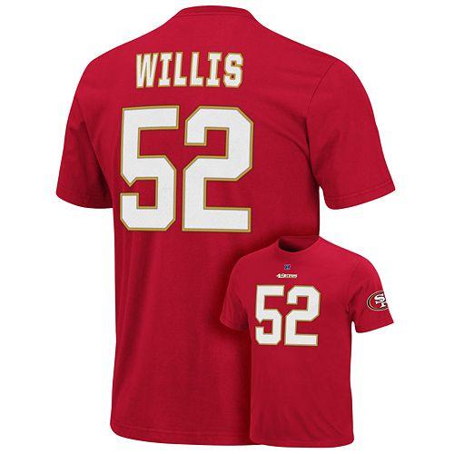San Francisco 49Ers Patrick Willis The Eligible Receiver Tee - Men $ 26.99