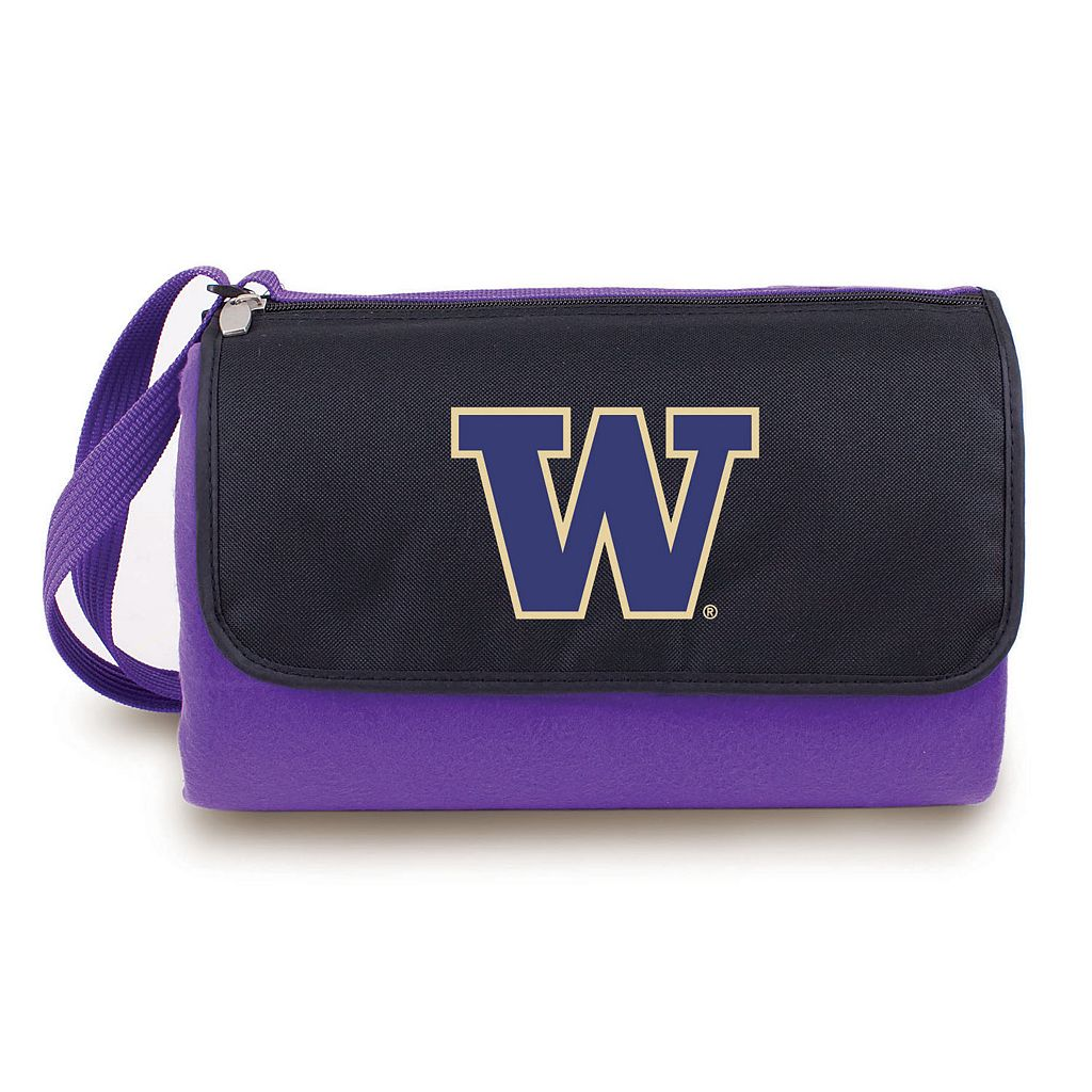 Picnic Time Washington Huskies Blanket Tote