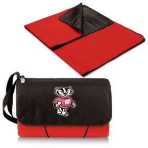Picnic Time Wisconsin Badgers Blanket Tote