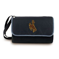 Picnic Time Wyoming Cowboys Blanket Tote
