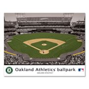 Oakland Athletics Oakland-Alameda County Coliseum Wall Art