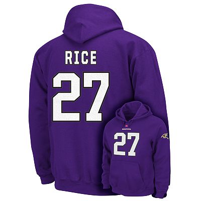 Baltimore Ravens Ray Rice The Eligible Receiver Fleece Hoodie - Men