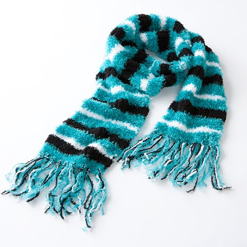 Jumping Beans Striped Eyelash Scarf - Girls $ 8.40