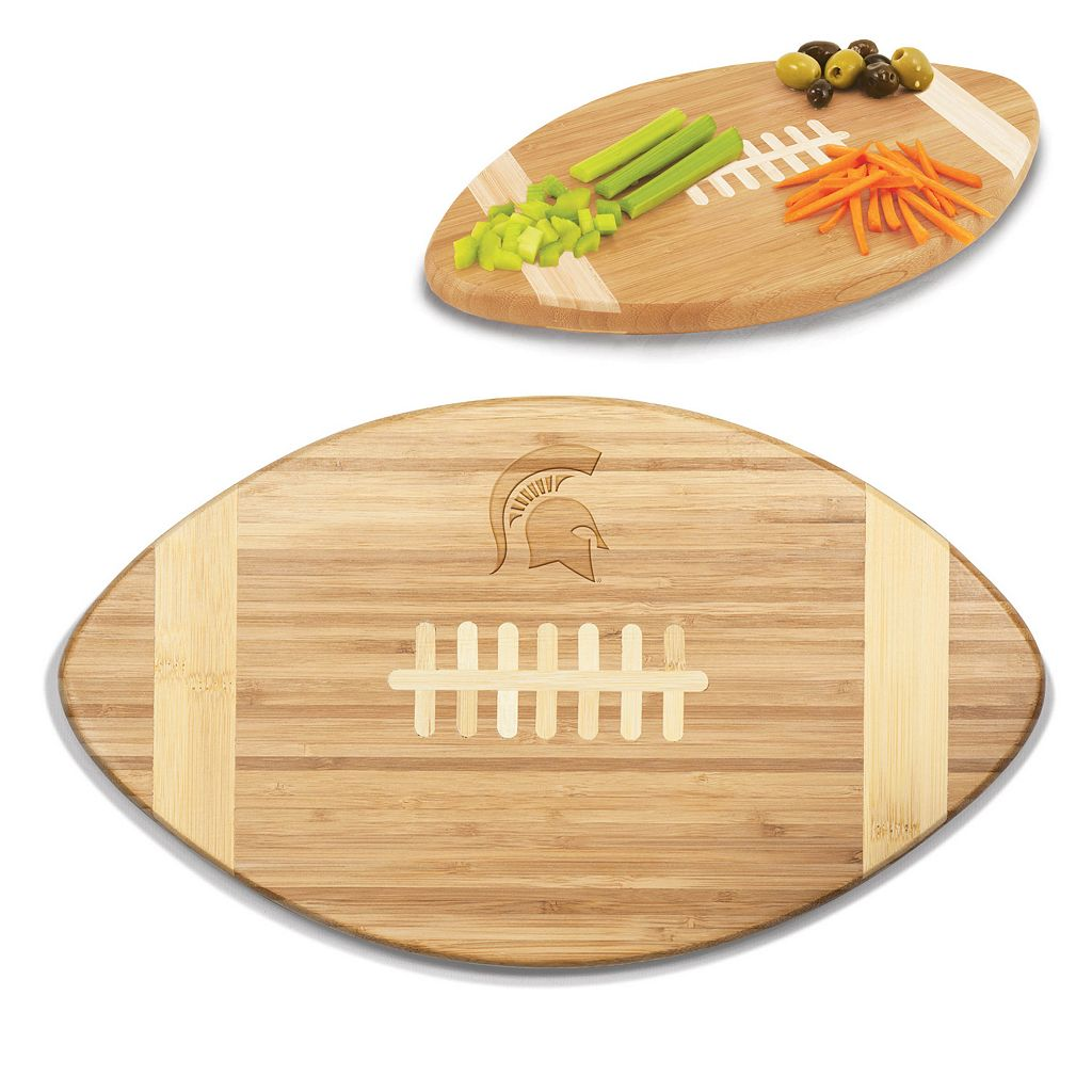 Picnic Time Michigan State Spartans Touchdown Cutting Board