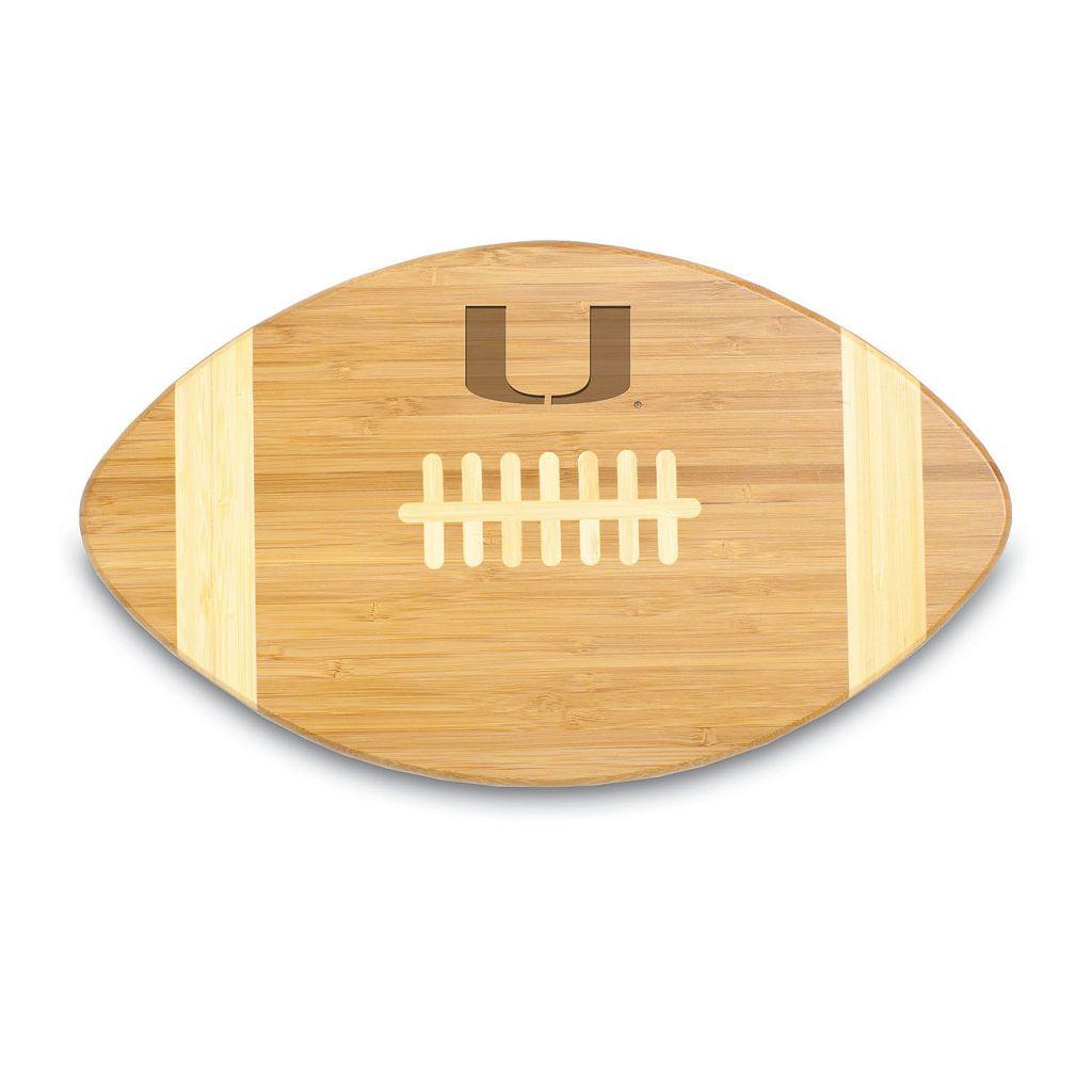 Picnic Time Miami Hurricanes Touchdown! Cutting Board