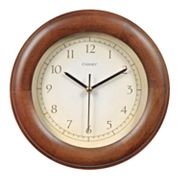 Chaney Wood Wall Clock