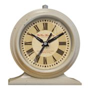 FirsTime Leighton Tabletop Alarm Clock