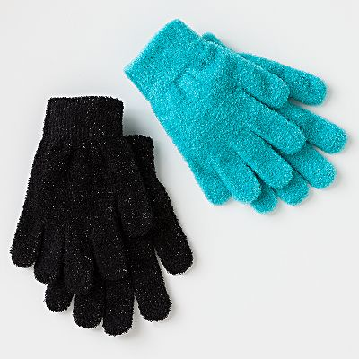 Jumping Beans 2-pk. Chenille Magic Gloves - Girls