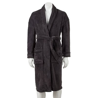 Croft and Barrow Corded Plush Robe