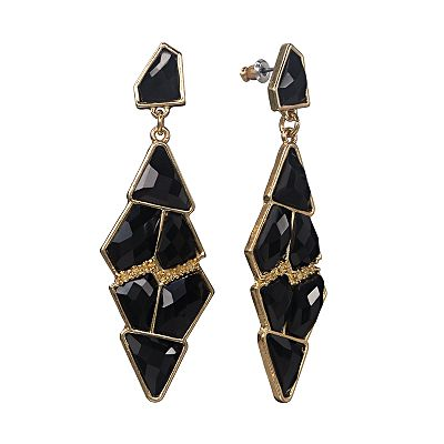 Apt. 9 Gold Tone Drop Earrings