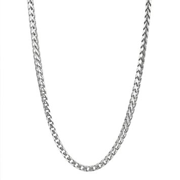Sterling Silver Franco Chain Necklace - 22-in. - Men