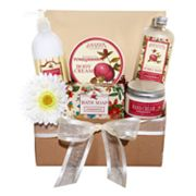 Pomegranate Spa Gift Basket