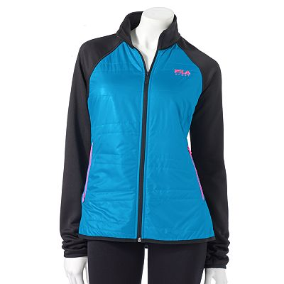 FILA SPORT Quilted Fleece Jacket