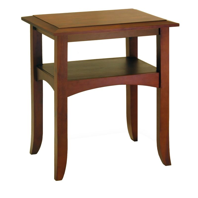 Winsome Craftsman End Table, Brown