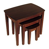 Winsome 3 pc Nesting End Table Set