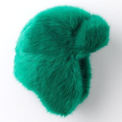 SO Bright Faux-Fur Trapper Hat