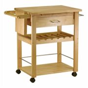 Winsome Wine Rack Kitchen Cart