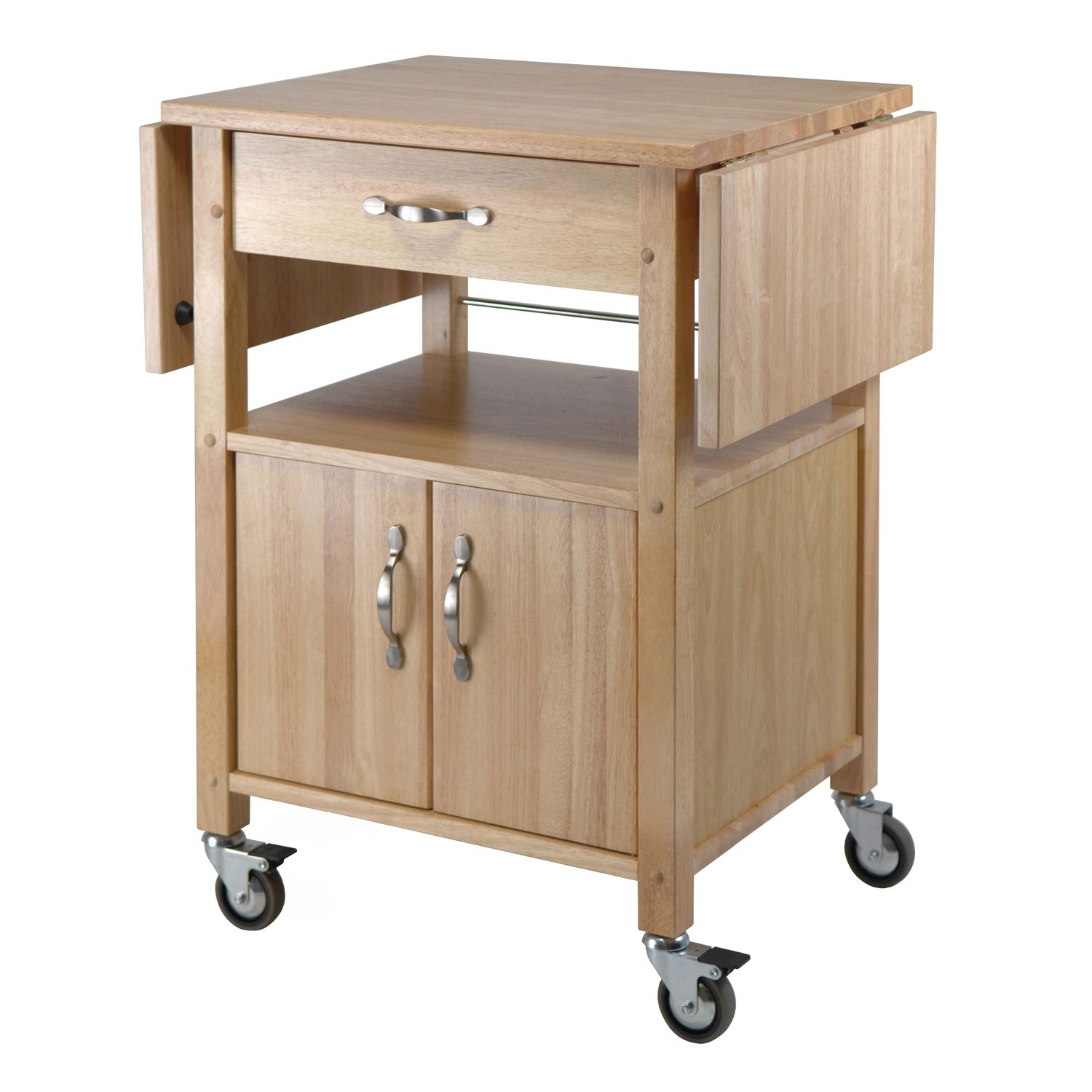 Exceptional Winsome Drop Leaf Kitchen Cart