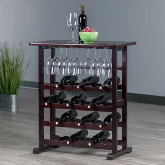 Winsome Vinny 24-Bottle Wine Rack