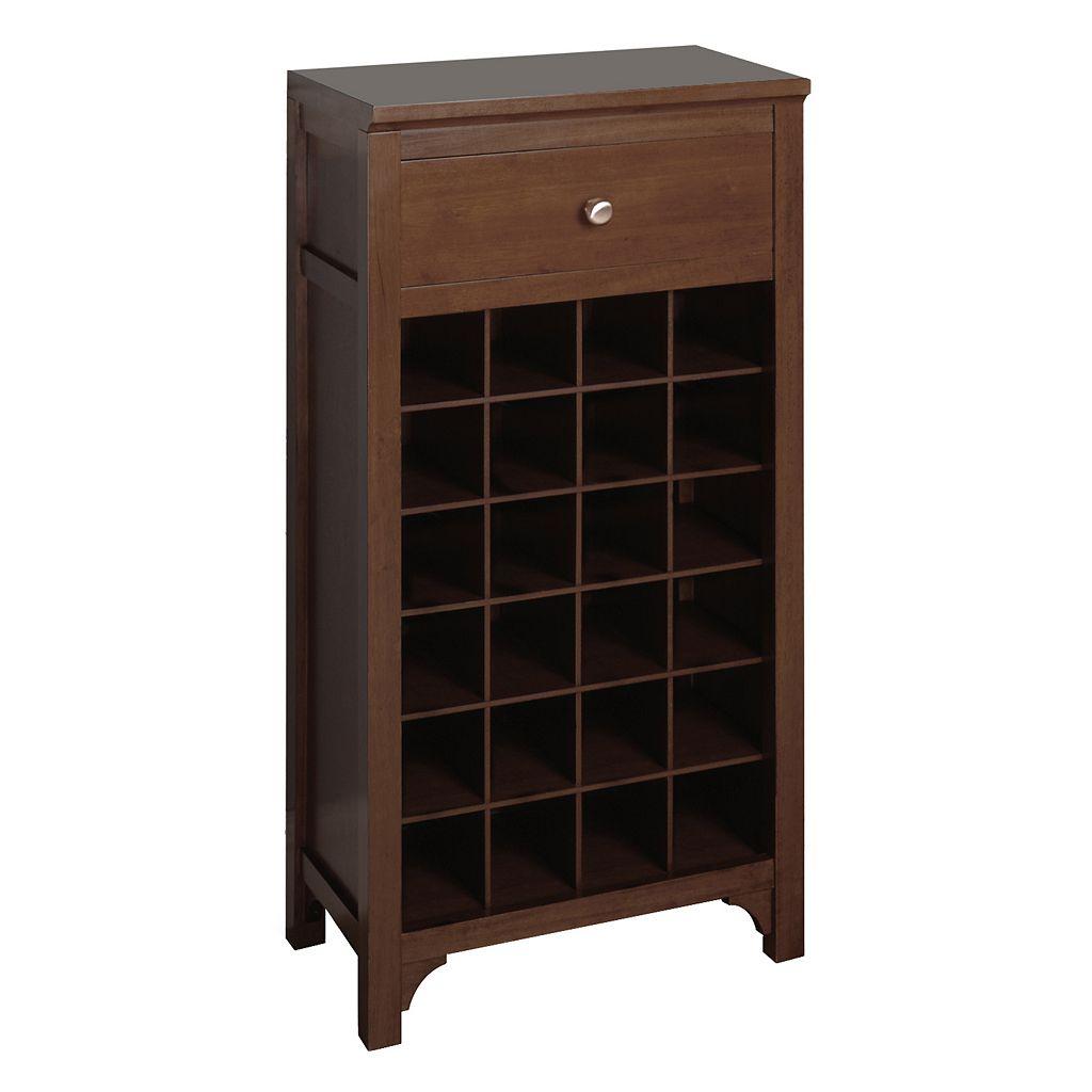 Winsome 24-Bottle Wine Cabinet