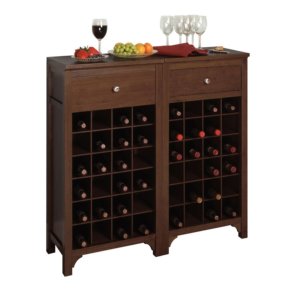 Winsome 24-Bottle Wine Cabinet