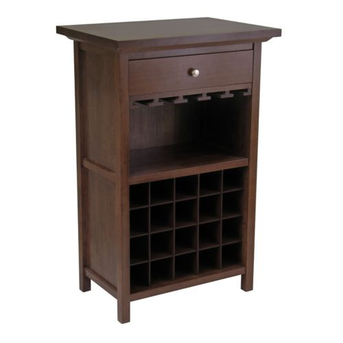 Winsome 20-Bottle Wine Cabinet