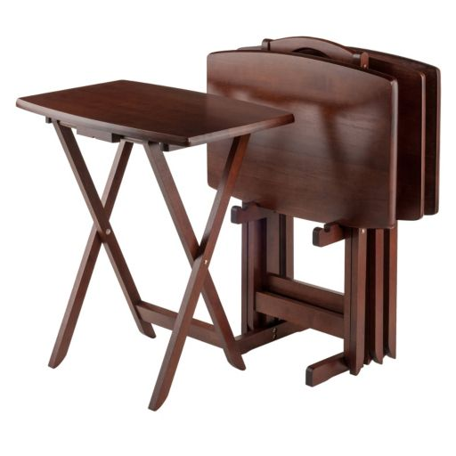 Winsome 5-pc. Oversized TV Tray Table Set