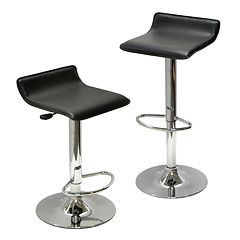 Winsome Airlift 2-pc. Adjustable Bar Stool Set