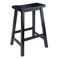 Winsome 24 in Saddle Seat Stool