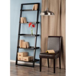 Winsome Bailey 5-Tier Leaning Shelf