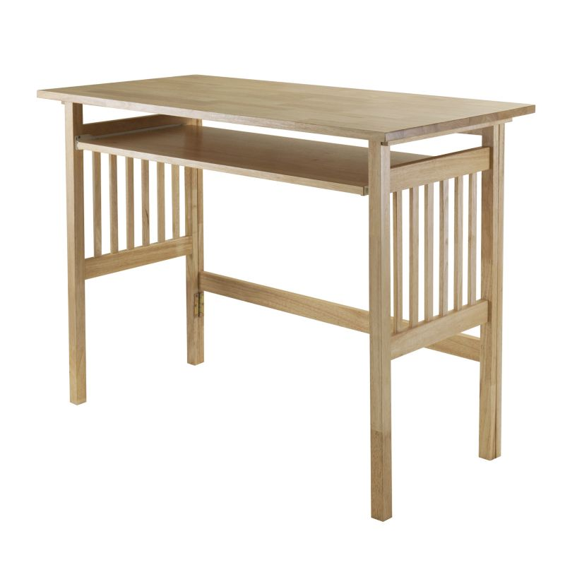 Winsome Folding Mission Desk, Beig/Green (Beig/Khaki)