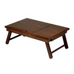 Winsome Alden Flip-Top Folding Lap Desk