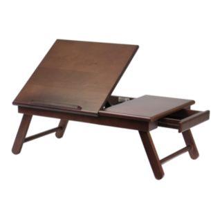 Winsome Alden Flip-Top Folding Lap Desk