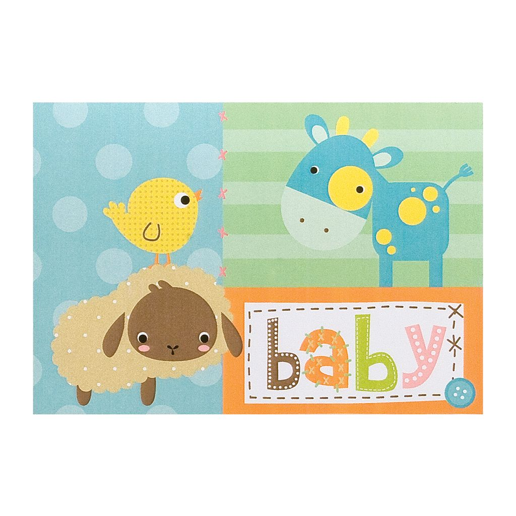 Pepperpot Barnyard Baby Boxed Note Cards