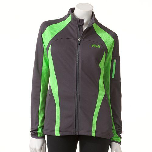 a7402a38b84 Women's FILA SPORT¨ Brisk Mockneck Performance Jacket