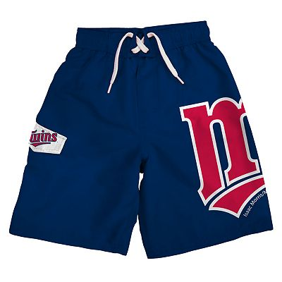 Minnesota Twins Cargo Swim Trunks - Boys 8-20