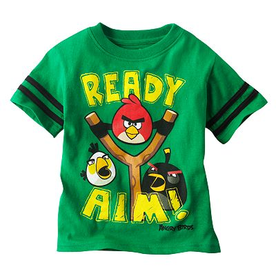 Angry Birds Graphic Tee - Toddler