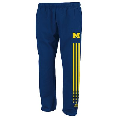 adidas Michigan Wolverines Fleece Sweatpants - Men
