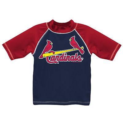 St. Louis Cardinals Swim Top - Boys 8-20