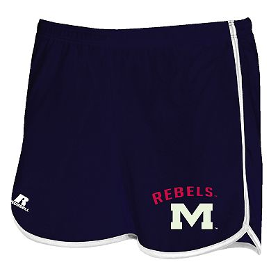 Russell Ole Miss Rebels Dazzle Shorts