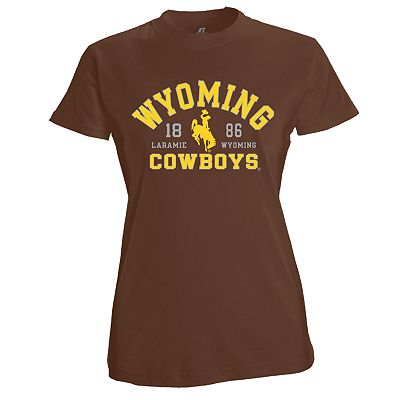 Russell Wyoming Cowboys Campus Tee